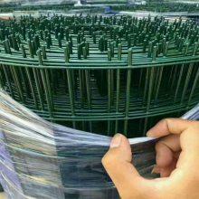 勾花网围栏 绿色铁丝网围栏 山地养鸡护栏