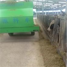 运城牛场专用喂料车 一次完成喂料车 喂牛羊抛料车 浩发
