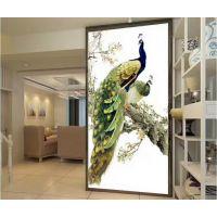 透明玻璃UV平板打印机瓷砖背景墙3D万能平板打印机陶瓷3D喷绘机