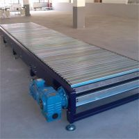 强盛食品厂专用 碳钢式链板输送机 异型链板式输送线