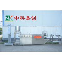 生产豆腐皮的机器多少钱 安徽宣城豆腐皮机器厂家 仿手工豆腐皮机机器