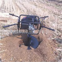 173cc超大马力四冲程地钻挖坑机 汽油两冲植树种植机 破冰机挖洞挖穴机哈尔滨1