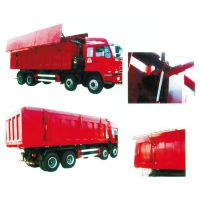 厂家提供高品质自卸车自动环保加盖配件 自卸车环保密闭系统改装