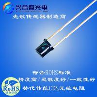 环保3mm光敏二极管 环保型光敏二极管 抗红外led电阻-兴合盛厂家