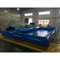 充气水池夏季热销 儿童游泳池厂家批发定做 加厚PVC夹网布水池