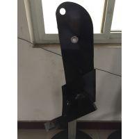 厂家销售建富牌 高品质硼钢曲面犁 旋耕机刀 农机配件定制