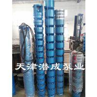 充水湿式三相异步深井泵 深井园林灌溉专用深井潜水泵 农用清水泵
