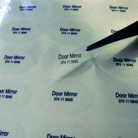 常州泉辰印刷 定做透明PVC不干胶 圆形透明标签 彩色不干胶贴纸定制