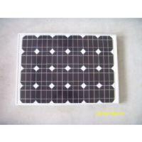 供应30W单晶太阳能电池板 太阳能路灯,太阳能监控供电