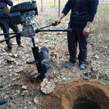 大功率手提打坑机 汽油轻便手提挖坑机 圣鲁植树机