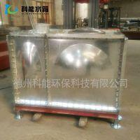 厂家定制组合式镀锌钢板水箱 热镀锌水箱 优质材料工艺先进