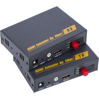 HDMI光端机光纤收发器品为DT200HDMI单模单芯光端机支持无压缩无延时高清视频传输