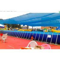 支架橡胶泳池今年什么价 夏天挣钱设备支架泳池厂家 怎么做钢架水池乐园生意