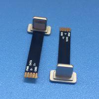 无线充苹果头 无线接收充电插头T型头 五金头 Lightning无线充电公头+25mm长FPC软排线