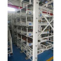 呼和浩特钢塑管存放架 zy050408 可调悬臂货架 管材存放仓储模式