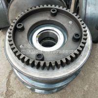 优质(锻打)平面齿圈Φ300LD车轮 单梁行车轮厂家直供福建 亚重