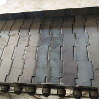 厂家定做金属链板 工业用碳钢链板流水线传动链 宁津卓远输送设备