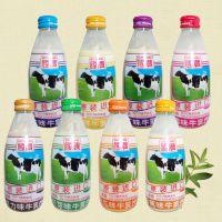 台湾国农牛奶 布丁/草莓/麦胚芽/木瓜调味/巧克力味牛乳饮品250ml