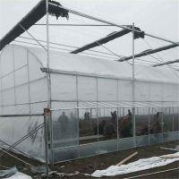 现货批发连栋养殖大棚.连栋薄膜温室 葡萄塑料连体避雨棚