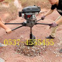 水泥电线杆挖坑机 东北冻土钻坑机 佳鑫多功能植树挖树坑机