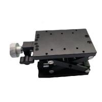 得地为业 80*120mm手动剪式升降台 手动微调架