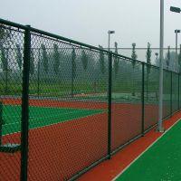 澳达网业生产南宁球场围网浸塑塑胶场地围网