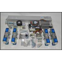 大连感应玻璃门机组批发,感应门电机如何接线18027235186