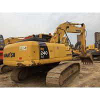 转让二手小松220-8挖掘机,性能免检,手续齐全,免费运输