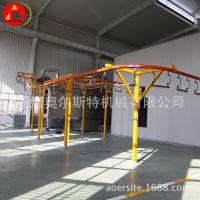 涂装生产悬挂式烘道输送流水线 输送设备多行程桥式烘道厂家定制