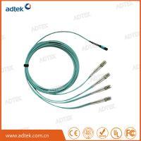 MPO-4LC多模双工万兆光纤跳线母头 光纤连接线/光纤尾纤线