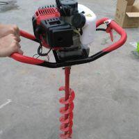 打坑机 打坑机厂家 拖拉机带打坑机 植树好帮手 挖坑机 乐丰牌