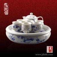 商务馈赠礼品定制茶具 陶瓷茶具价格 实用茶具