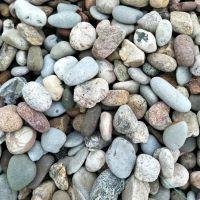 博淼厂家直销天然鹅卵石30-50cm 五彩鱼缸装饰鹅卵石
