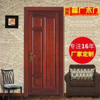 佛山烤漆门批发定制 商用木门 现代风格高档实木门