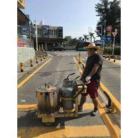 在深圳承接交通道路划线,停车位施工地坪漆,专业划线人士价格实惠