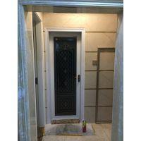 佛山美多裕门窗供应铝合金门窗 定制厕所双包边平开门 隔音防水