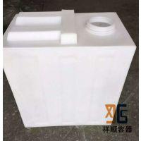 190L方形塑料水箱 190升废水储水箱 190公斤设备水箱