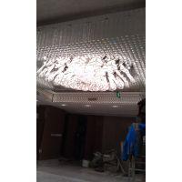 北京双林润兆装饰厂家定制餐厅中式方形水晶灯