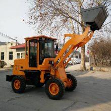 厂家供应小型装载机 建筑工程机械10农用家用四驱四缸抓草抓木机