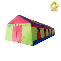亚图卓凡厂家可定做军工迷彩大型充气帐篷 流动酒席婚宴餐饮 野外露营帐篷,气柱(高强涤纶丝夹网布)