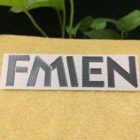 超薄金属字标签 金属logo 镍标 电镀标签 电镀纯镍标签