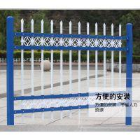 小区弯弧锌钢护栏 道路护栏锌合金围墙生产厂家电话 防护网 方管隔离网