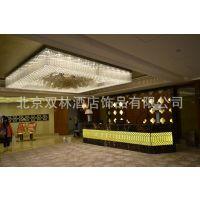 供应非标定制豪华酒店工程大型水晶艺术LED灯