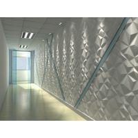 供应3D壁纸新型电视背景墙波浪板-畅销款迪蒙得