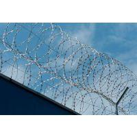 孟业Y型机场防护网 带刀片刺滚笼 机场刀片刺绳护栏网