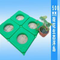 东莞塘厦生产水生种植浮床水面种植浮板拼装人工浮岛500mm浮岛