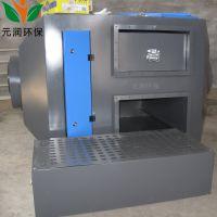 塑料造粒机厂废气处理设备 活性炭吸附装置 等离子光氧 废气净化器一体机 元润环保供应