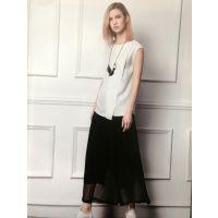 阿尔巴卡时尚女装批发商山东品牌女装折扣批发走份尾货加盟招商圣格瑞拉
