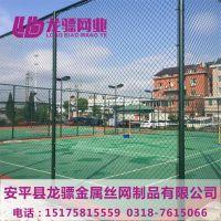 河北篮球场围栏 铁丝围栏网 勾花护栏网厂家