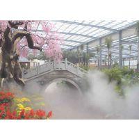 专业度假村人造雾降温设备供应喷雾机品牌公司